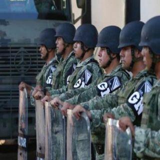 Llega la Guardia Nacional a la CDMX