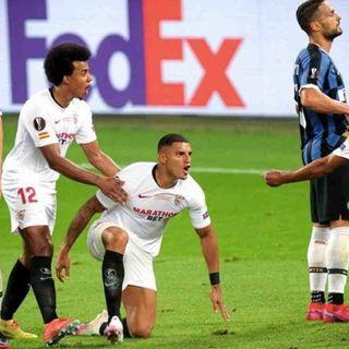 Europa League, il Siviglia batte l'Inter 3-2 e vince per la sesta volta il trofeo