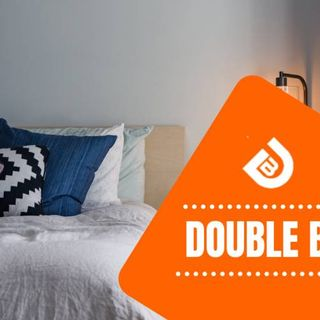 Double Bed | Sale 75% OFF | FREE Delivery | The Double Bed