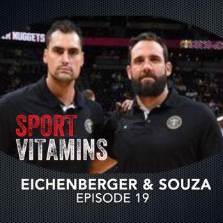 Episode 19 - SPORT VITAMINS (ENG) / Felipe Eichenberger & Claus Souza, Strength Coaches - Denver Nuggets