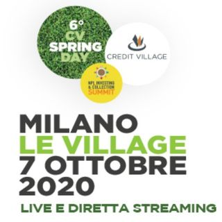 2020-00-CV Update - L'autunno caldo di Credit VIllage