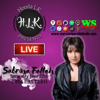 Hooda LK Presents   Sabrina Fallah
