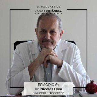 Disruptores endocrinos, con el doctor Nicolás Olea