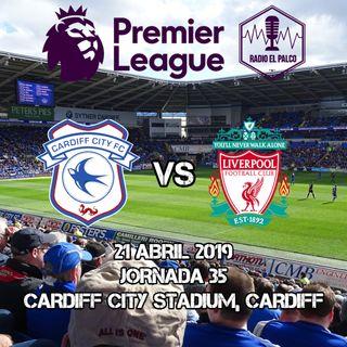 Cardiff City vs Liverpool en VIVO