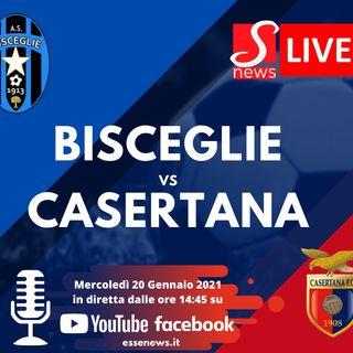 Diretta Lega PRO :::: Bisceglie - Casertana 0 - 1 ::: Serie C girone C