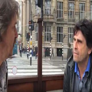 Steve Brown ontmoet Complot-Gangster Francis Capelle in Amsterdam-Noir.