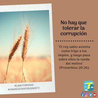 29 de noviembre - No hay que tolerar la corrupción - Una Nueva Versión de Ti 2.0 - Devocional de Jóvenes