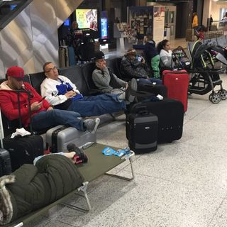 Hundreds Of Flights Delayed At Logan Airport