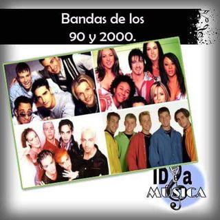 Bandas famosas de los 90 y 2000