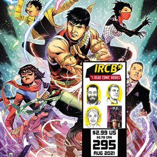 Episode 295   It's Hot!... But Comics Are Cool (ft. The O.Z. #1-2 Kickstarter chat with David Pepose!)