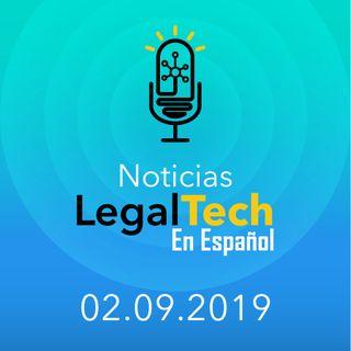 Noticias Legaltech 02.09.2019
