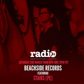 Beachside Records Radioshow Episode # 010 by Stairs (PE)