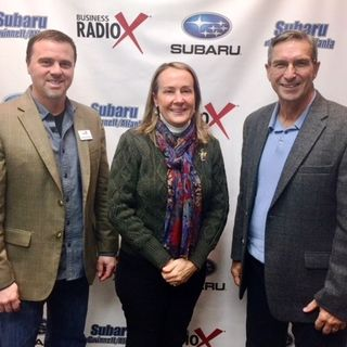 SIMON SAYS, LET'S TALK BUSINESS: Anthony Shope with Halski Systems and Lori Snow with Condor Tours & Travel