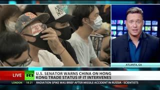 Ben Swann ON U.S. Would Never Tolerate Hong Kong Protests