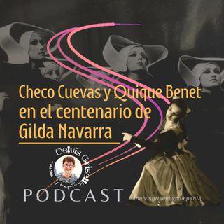 Checo Cuevas y Quique Quique en los cien de Gilda Navarra