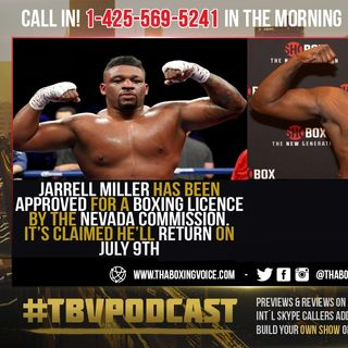 ☎️Jarrell Miller vs Jerry Forrest🔥Big Baby's Road BACK To Joshua Or Fury Begins July 9❗️
