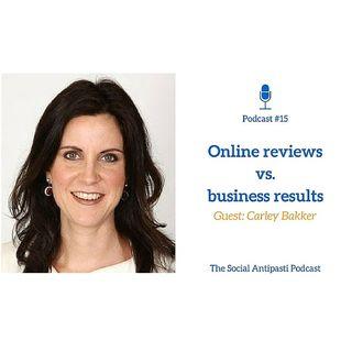 #15 Online reviews vs. business results - w/Carley Bakker