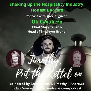 Shaking Up The Hospitality Industry - Honest Burgers - Oli Cavaliero