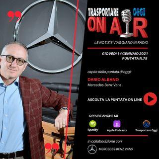 Puntata 75/2021 del 14 gennaio - Ospite: Dario Albano (Mercedes-Benz Vans) - Bilanci