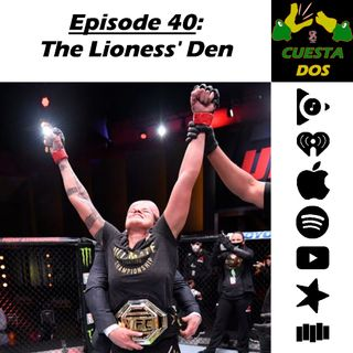 40. The Lioness' Den