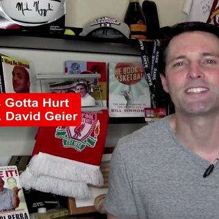 "Guest: Dr. David Geier  Author of ""THAT'S GOTTA HURT"": The Injuries That Changed Sports Forever"""