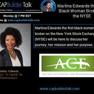 Martina Edwards the First Black Woman Broker on the NYSE