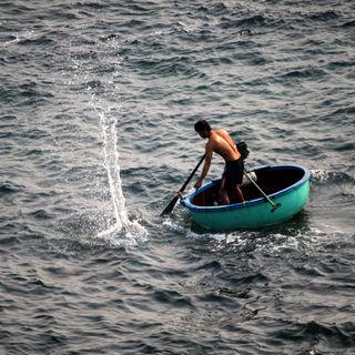 Il pescatore che batteva l'acqua