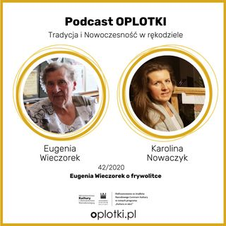 42_2020 Eugenia Wieczorek o frywolitce