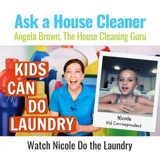 Kids Can Do Laundry with Kid Correspondent Nicole