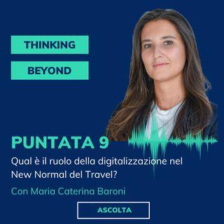 Puntata 9 - Qual è il ruolo della digitalizzazione nel New Normal del Travel?
