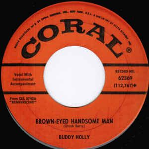 Buddy Holly - Brown Eyed Handsome Man - Time Warp Song of The Day