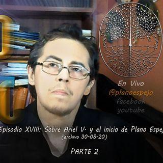 Episodio XVIII - Sobre Ariel Varela y el inicio de Plano Espejo PARTE2