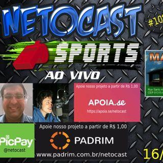 NETOCAST 1087 DE 16/11/2018 - ESPORTES