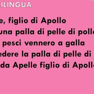 provo a dire delle scioglilingua ITALIANE.....oh dio mi sono fatta 100 risate....😂