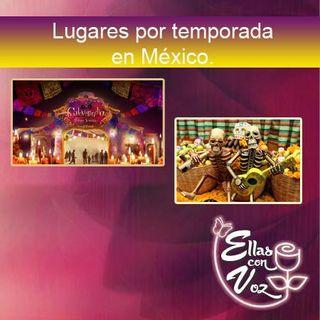Lugares por temporada en México
