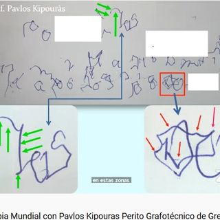 Pericias sobre escritura en Griego Pavlos Kipouras Perito Grafotécnico de Atenas