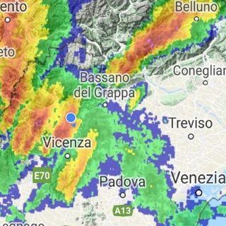 Allerta meteo: temporali in arrivo in montagna e nella zona pedemontana