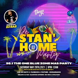 Stan Home Party - Blue Zone Mas Party Live Audio