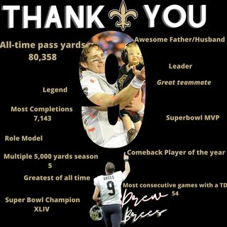 Drew Brees Legacy/what he meant to New Orleans. NFL News and NBA News
