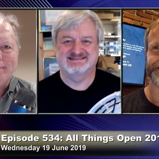 FLOSS Weekly 534: All Things Open 2019