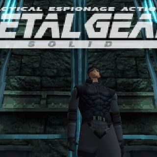 Backlog Busting Project #12:  Metal Gear, Metal Gear Solid 1
