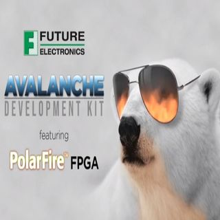 Future Electronics Avalanche Board Featuring PolarFire™ FPGA