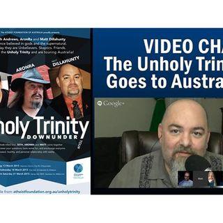 Google Chat: The Unholy Trinity Goes to Australia