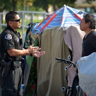 Homelessness and the community- A different and innovative approach by the Anaheim Police Department