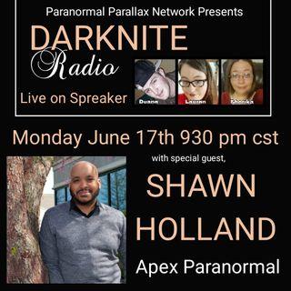 Darknite Radio Presents.. Shawn Holland
