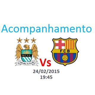 Liga dos Campeões - City vs Barcelona