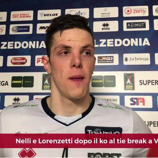 Trento: Nelli e Lorenzetti commentano la sconfitta al tie break di Verona