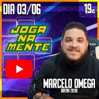 Marcelo Omega do Arena 2K99 e os desafios da produção de conteúdo - Joga Na Mente