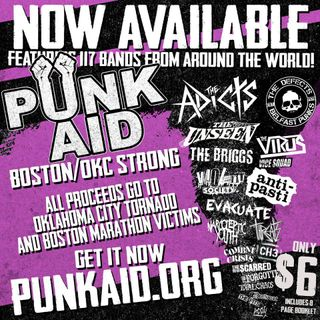 Punk Aid Radiothon on 990WBOB.com