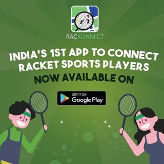 Rackonnect - Finding a Racket Player Nearby Made Easy